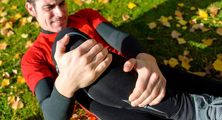 Ушиб колена симптомы и лечение