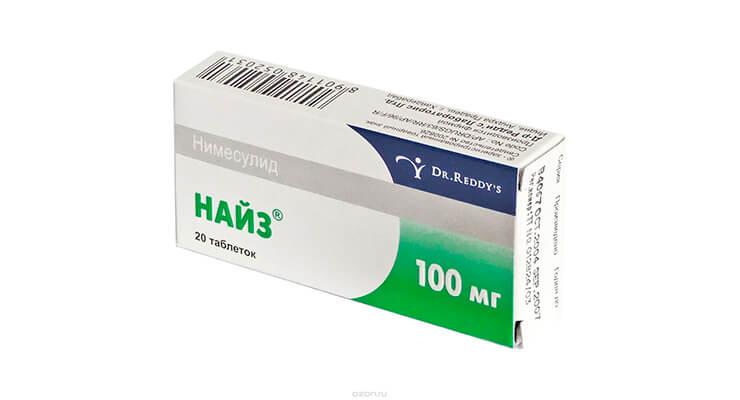 Таблетки найз польза и вред