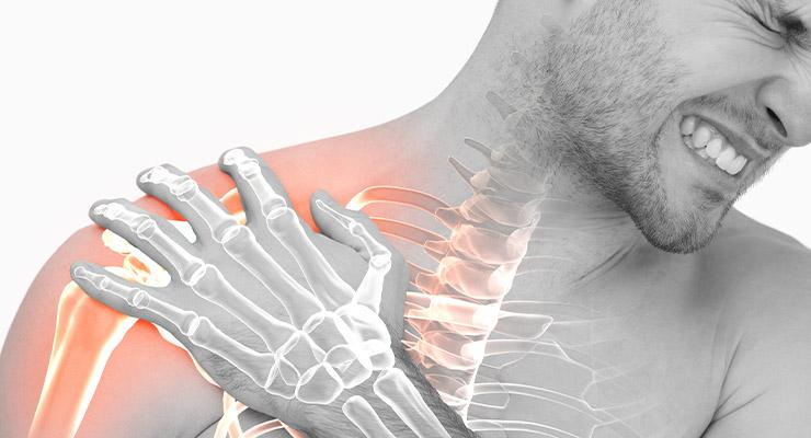 Симптомы разрыва и надрыва связок плечевого сустава