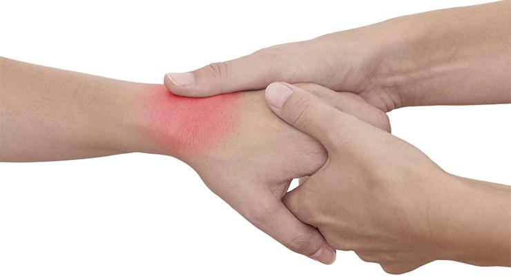Растяжение связок запястья - причины и лечение
